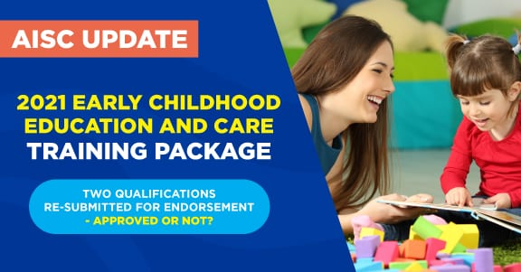 Update to the CHC Early Childhood and Education training package